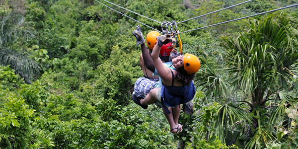 South Shore canopy zip line tour and eco park adventures!